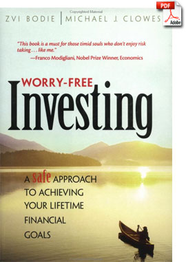 Worry-Free Investing Book Cover
